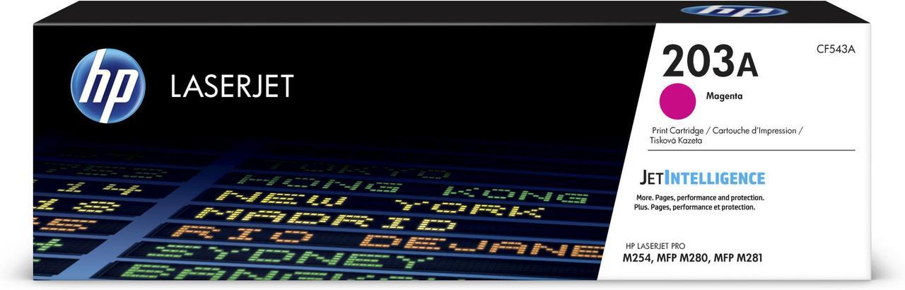 Тонер-картридж HP 203A CLJ M280/M281/M254 Magenta 1300 страниц