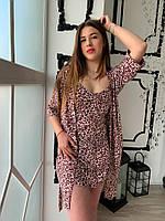 Нереально красивый комплект/тройка в модный леопардовый принт, фото 1
