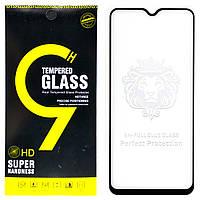 Защитное стекло Full Glue для Realme 5 Pro клей по всей поверхности (Black)