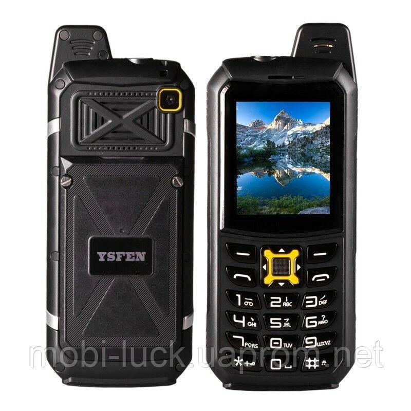 Мобильный телефон YSFEN M21 Black IP67 (RU)