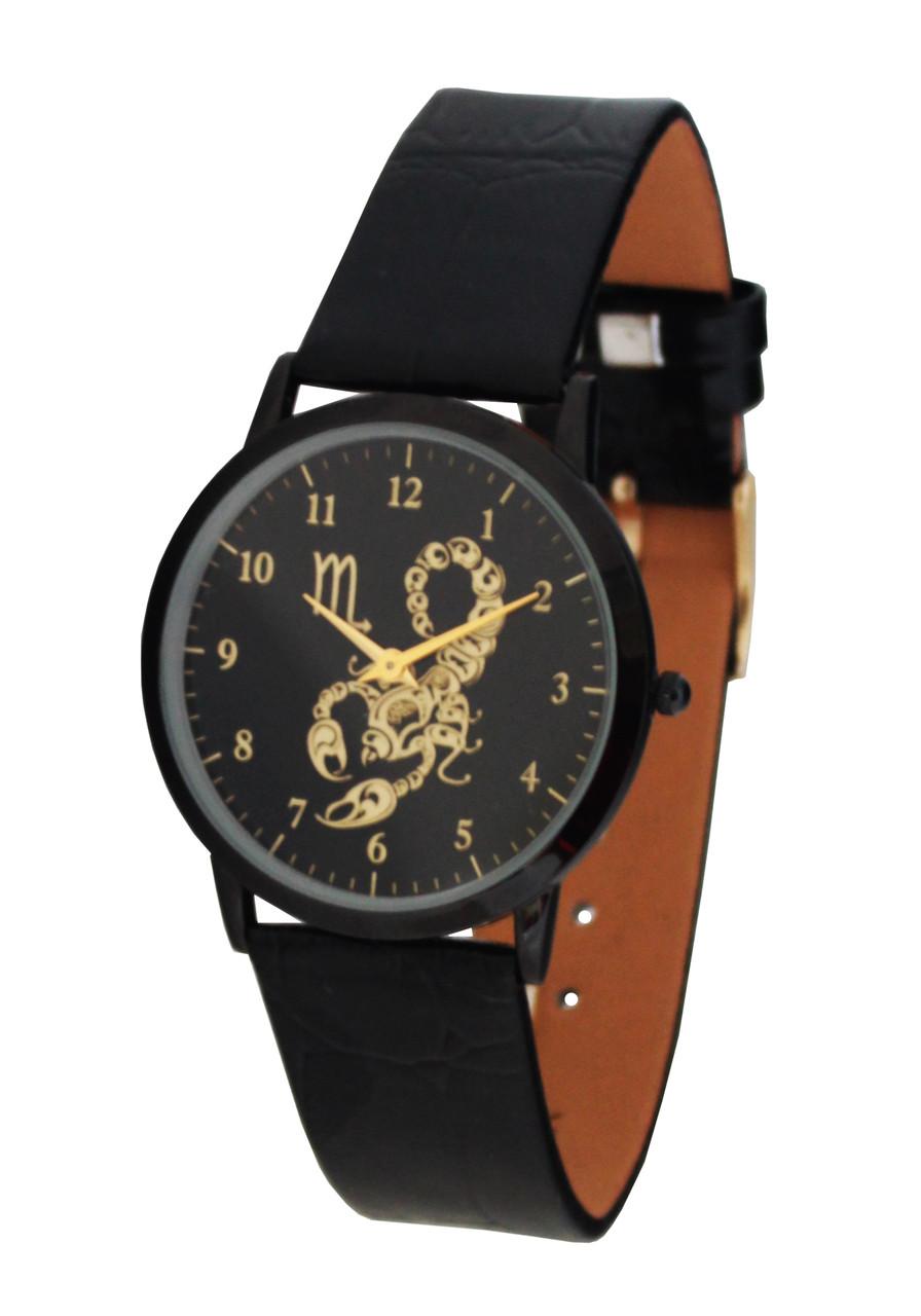 Годинник унісекс Знак зодіаку -Скорпіон