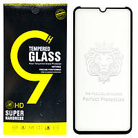 Защитное стекло Full Glue для Realme XT клей по всей поверхности (Black)