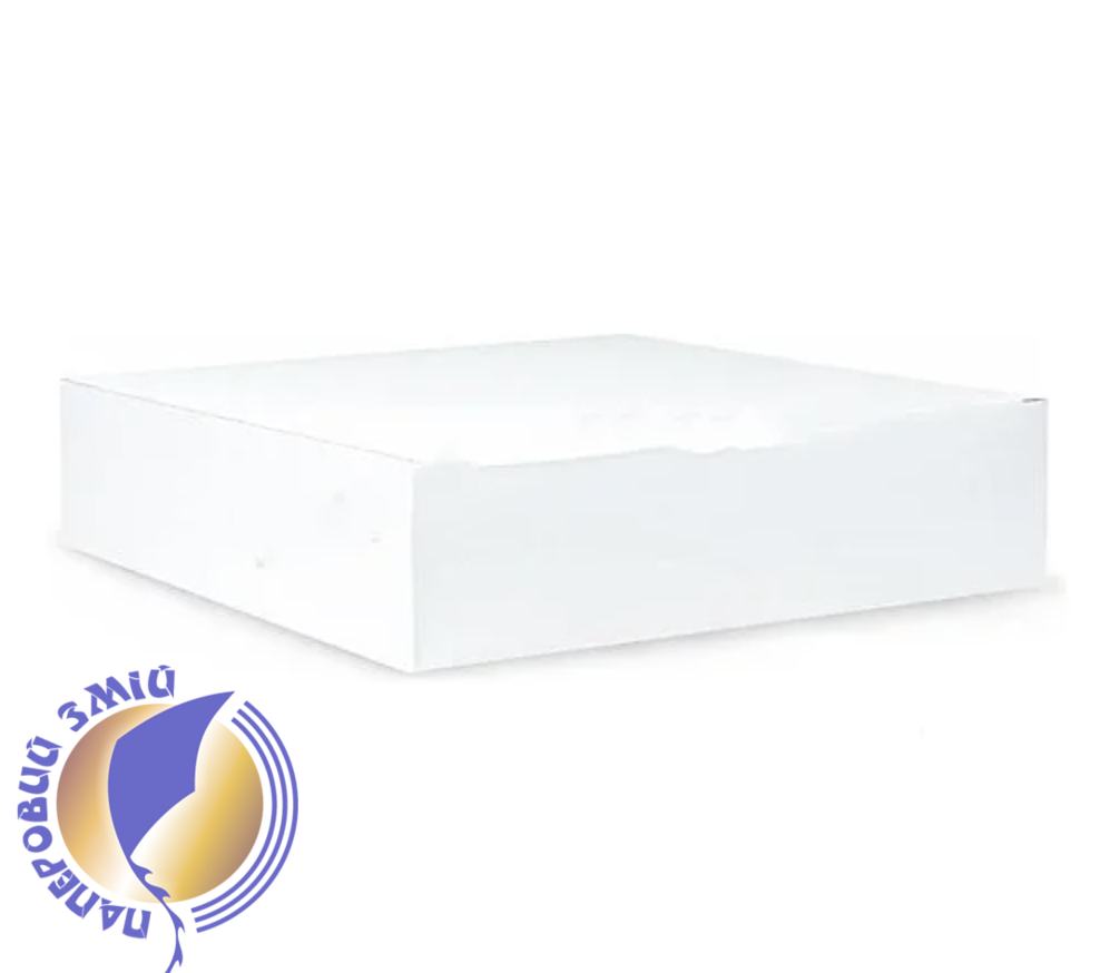 Картонна коробка для пазлів, біла