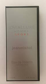 Минипарфюм jeanmishel loveAllure Homme Sport 10 мл