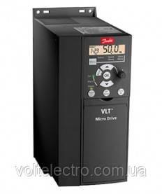 Частотный преобразователь Danfoss FC-051P2K2 (2,2 кВт, 9,6 А, 220 В)