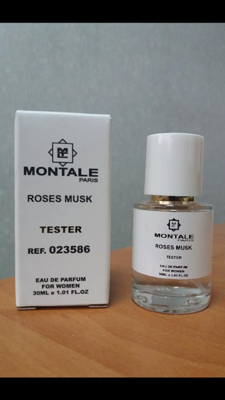 Montale Roses Musk (монталь роузез муск) парфюмерия женская тестер 30 ml ОАЭ (реплика)