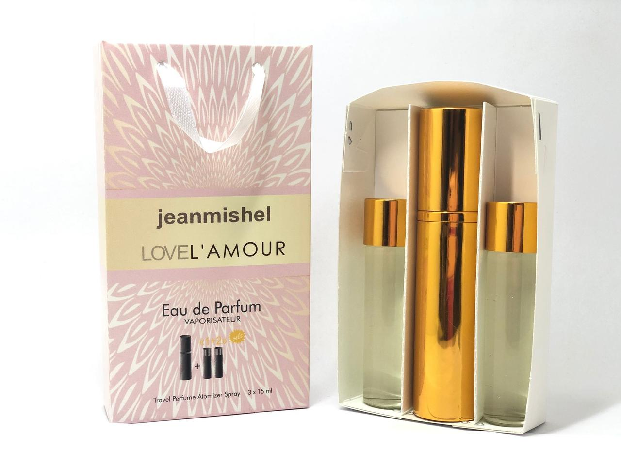 Мини парфюм в подарочной упаковке jeanmishel lovelLamour 45мл