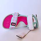 Бирюзовые спортивные сандалии от EeBb девочкам, р. 28, стелька 17,5 см, фото 4