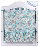 Детский постельный набор Babyroom Comfort 8 элементов, фото 4