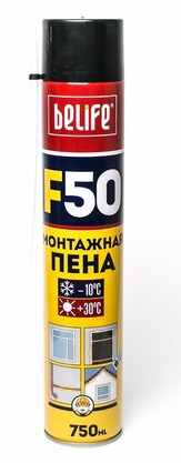 Піна монтажна F50 800мл BELife