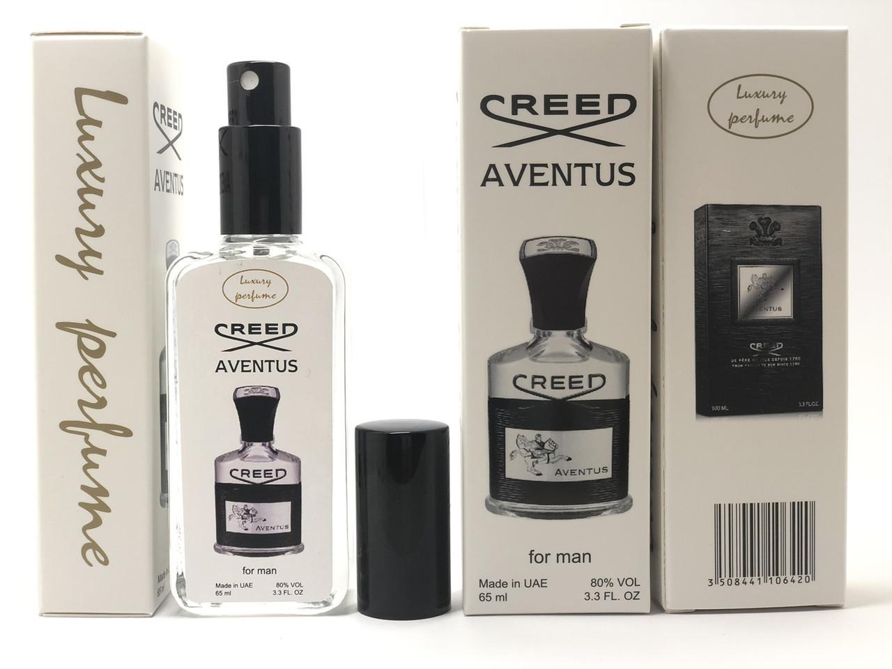 Мужская парфюмерия производства ОАЭ Luxury Perfume Creed Aventus тестер 65 ml (реплика)