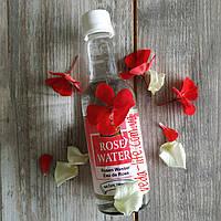 Розовая вода ПИЩЕВАЯ. Цветочная вода Розы. 100% натуральный гидролат. 190 мл