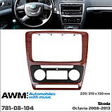 Переходная рамка AWM Skoda Octavia A5 (781-08-104), фото 2