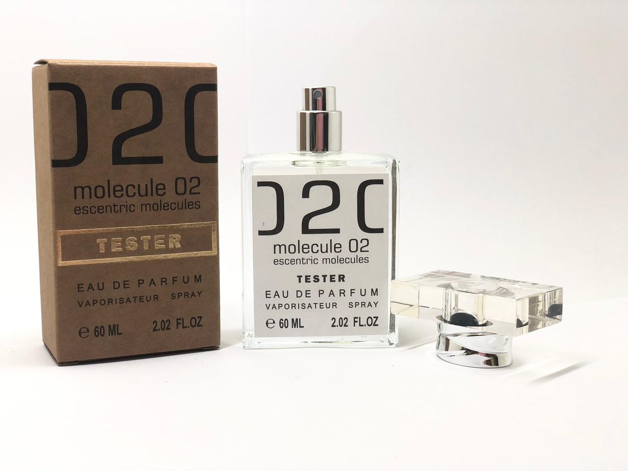Escentric 02 Escentric Molecules (Эсцентрик молекула 02) парфюм тестер 60 ml (реплика)