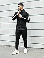Спортивный костюм мужской с капюшоном Asos tech-diving (черный)