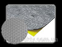 050903 Шумоізоляція звукопоглинаюча алюмінізована гладенький папір 500*500мм АРР