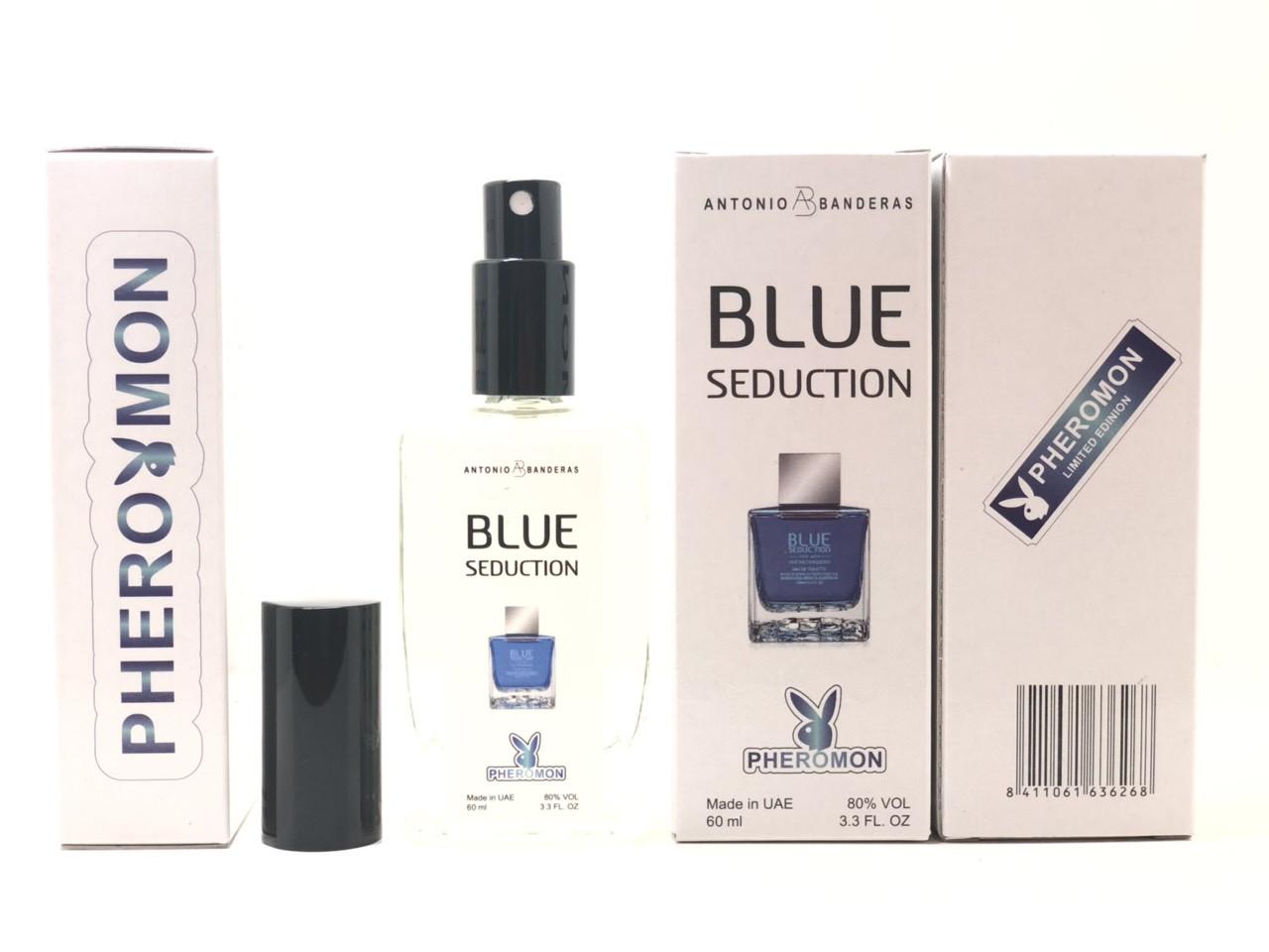 Antonio Banderas Seduction Blue мужской парфюм тестер 60 ml в цветной упаковке (реплика)