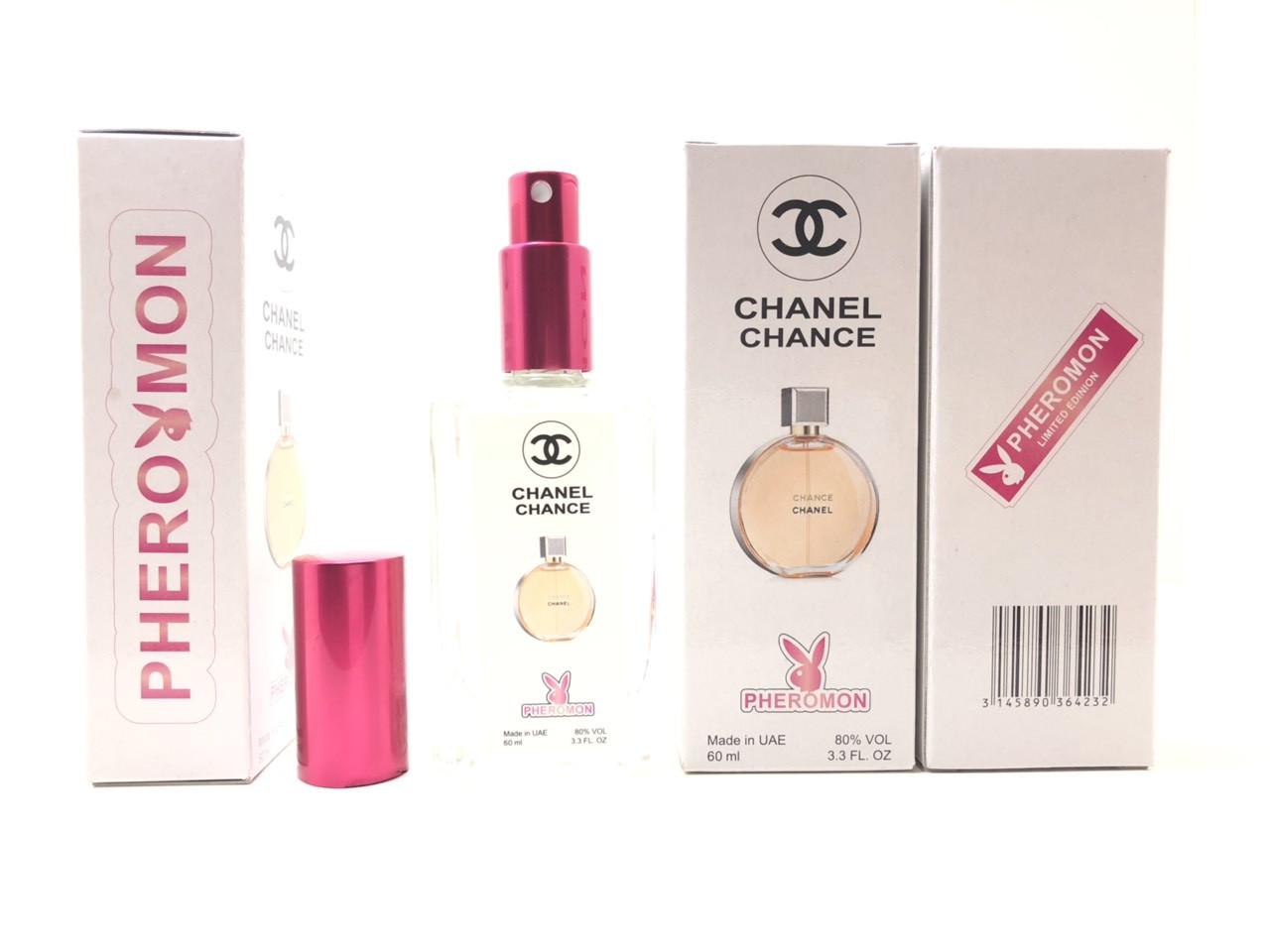 Женский парфюм Chanel Chance в цветной упаковке с феромонами (реплика) тестер 60 ml