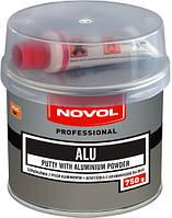 Шпаклівка з алюмінієм ALU  0,75кг  NOVOL