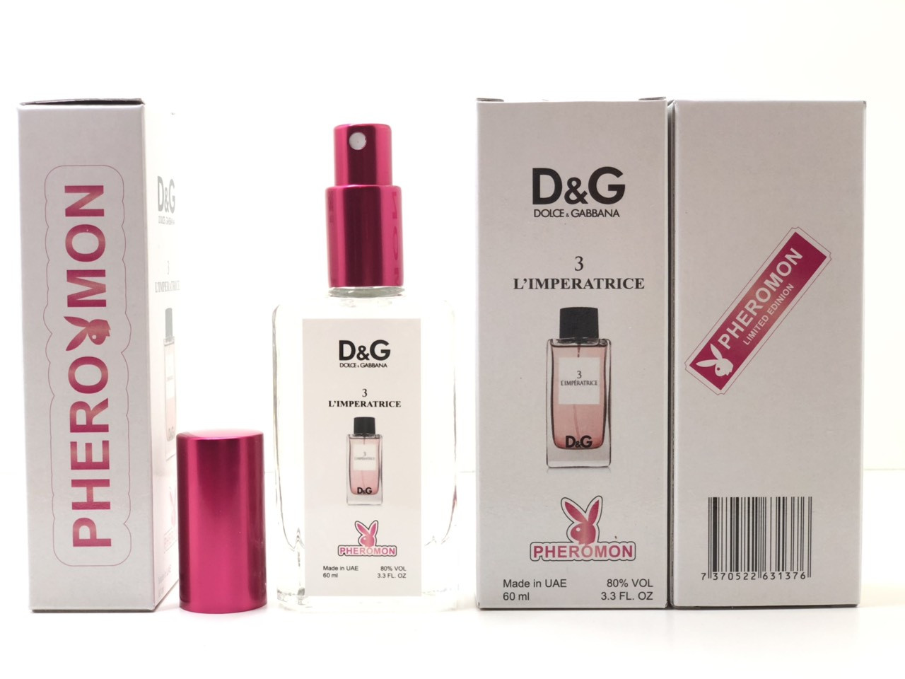 Женский парфюм Dolce & Gabbana L'Imperatrice №3 (реплика) тестер 60 ml в цветной упаковке с феромонами