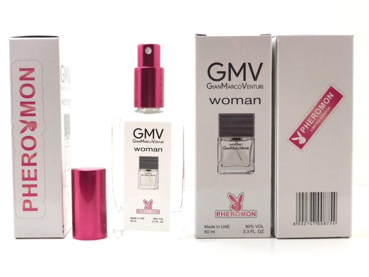 Gian Marco Venturi WOMAN женский парфюм тестер 60 ml в цветной упаковке с феромонами (реплика)