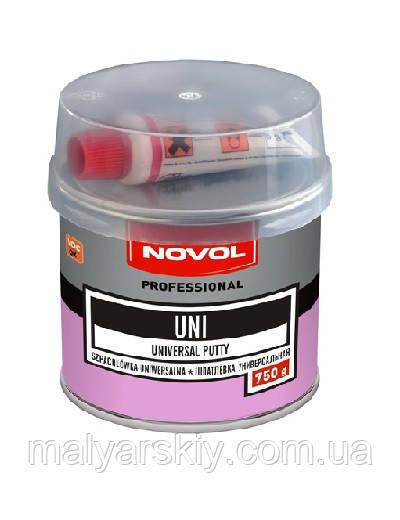 Шпаклівка універсальна UNI 0,75 кг NOVOL