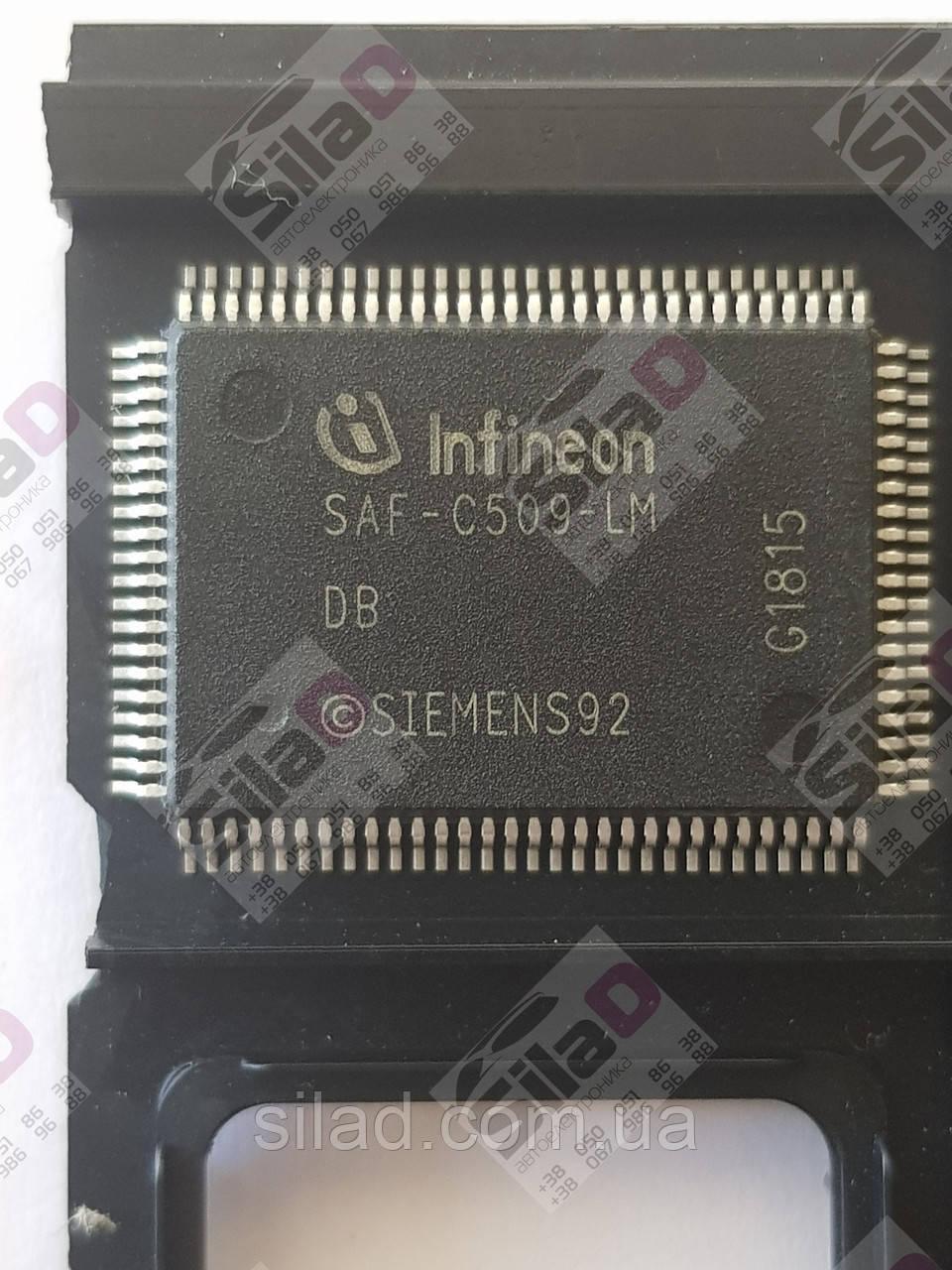 Мікроконтролер SAF-C509-LM Infineon корпус P-MQFP-100-2