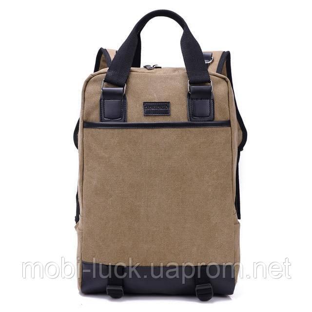 Городской рюкзак Manjian TaoMaoMao 1210 Khaki