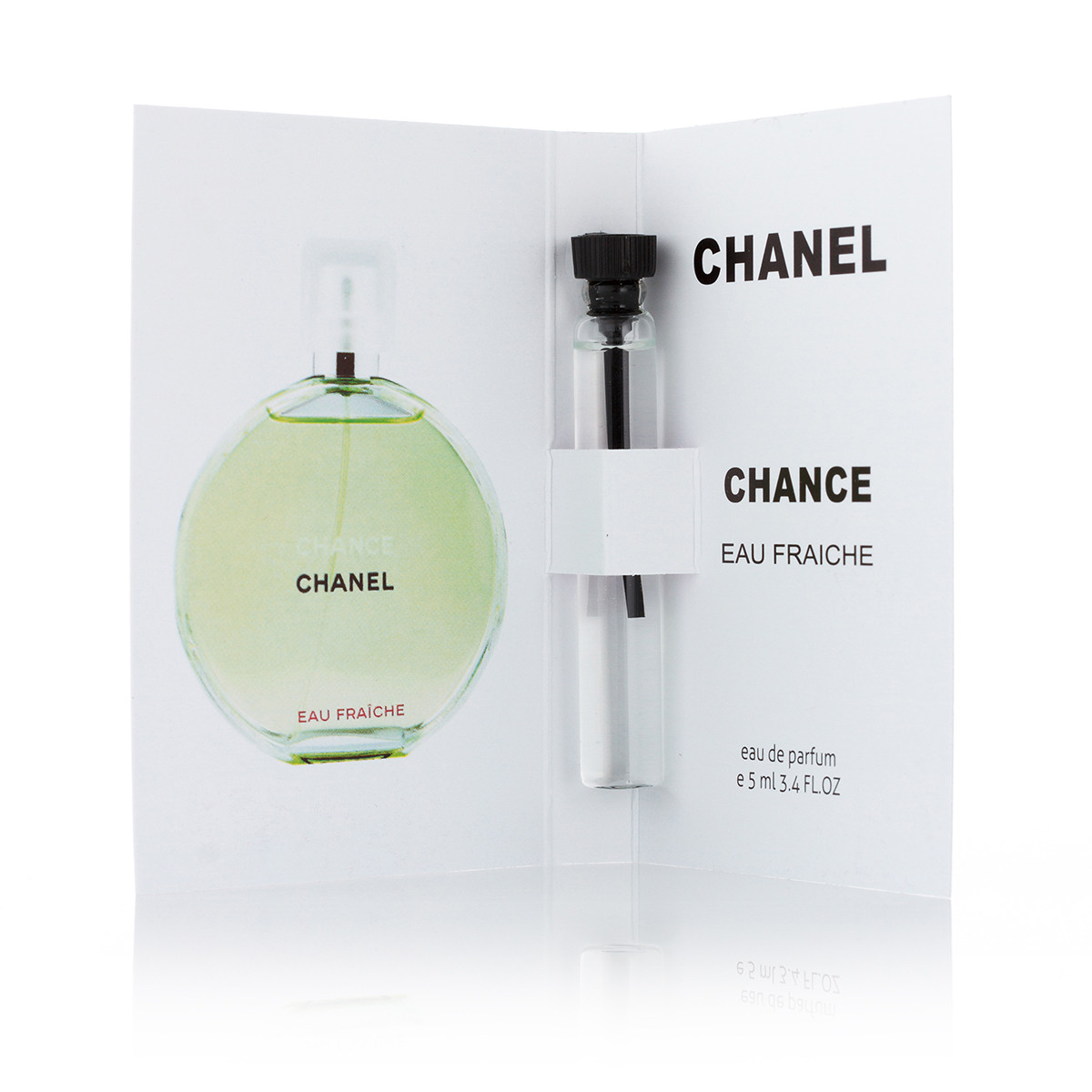 Женский парфюм Chanel Chance Eeau fraiche пробник 5 ml (реплика)