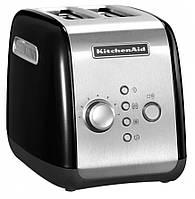 Тостер KitchenAid на два ломтика 5KMT221 Черный