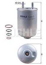 MAHLE-KNECHT KL485/5D - Топливный фильтр на Рено Меган III 1.5dci, 2.0dci, 1.9dci