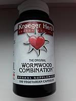 Kroeger Herb Co, The Original Wormwood Combination, 100 вегетарианских капсул