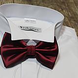 Класична сорочка під краватку-метелик, фото 4