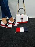 Комплект жіноча Сумка, взуття, гаманець, фото 3