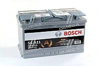 Аккумулятор   80Ah-12v BOSCH AGM (S5A11) (315x175x190),R,EN800 0092S5A110