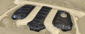 MANSORY engine carbon cover for W12 for Bentley Continental GT / GTC