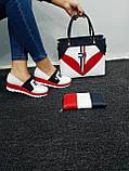 Комплект жіноча Сумка, взуття, гаманець, фото 2