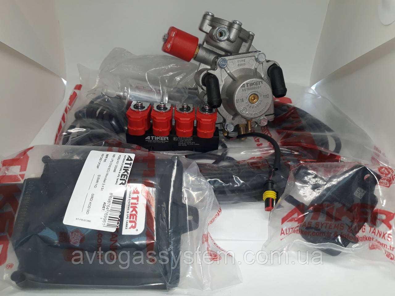 Міні комплект Atiker MicroFast/Atiker SR 08/Atiker