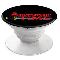 Попсокет (Popsockets) держатель для смартфона Время приключений (Adventure Time)  (8754-1582)