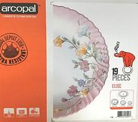 Сервиз столовый Arcopal Elise из 19 предметов (L7784)