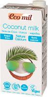 Растительное молоко Ecomil из кокоса с кальцием 1 л (8428532230276)