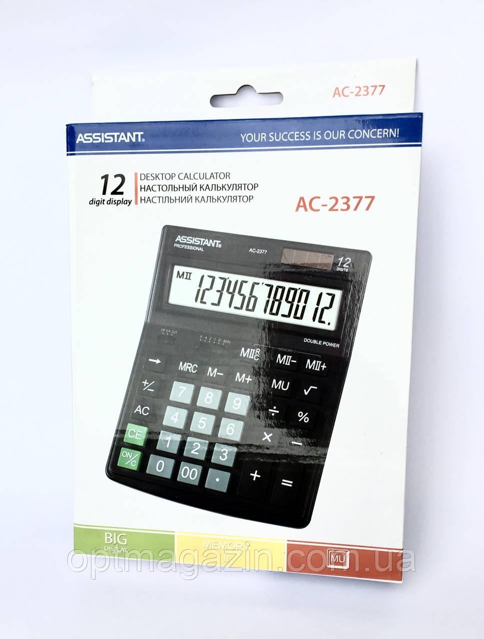 Калькулятор Assistant AC-2377 (Асистент)