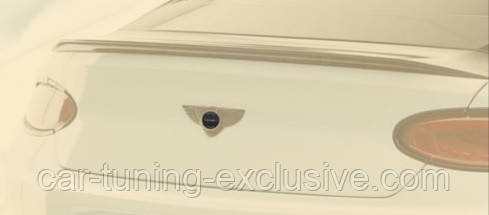 MANSORY logo for trunk lid for Bentley Continental GT / GTC