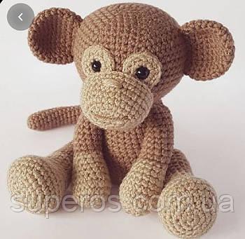 В'язана іграшка Мавпа