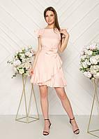 Женское летнее льняное платье.Размеры:44,46, фото 1