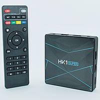 Оригинальная Смарт приставка HK1 Super 4/32GB Android 9.0 Smart TV Box, фото 1
