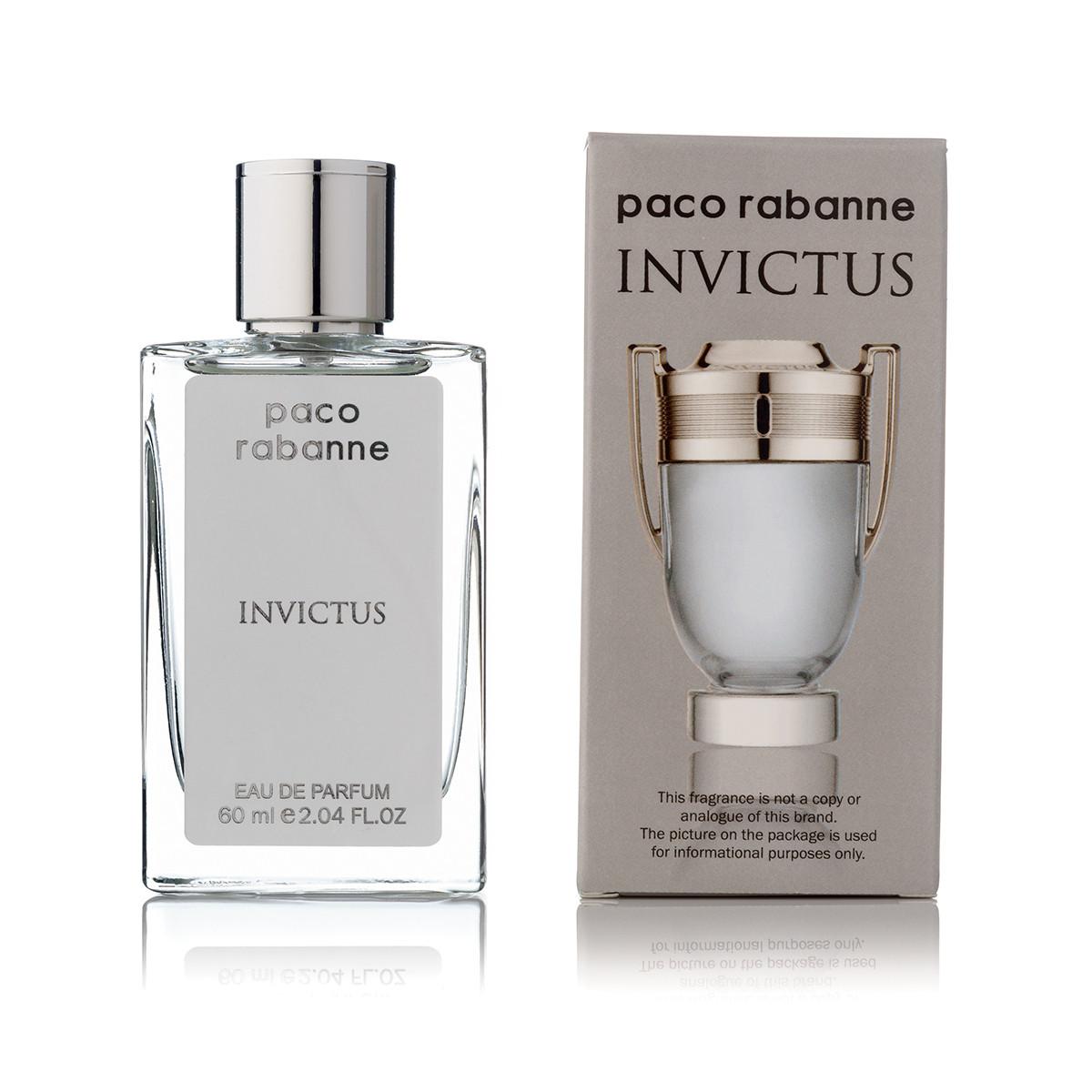 Paco Rabanne Invictus (инвиктус) мужской парфюм тестер 60 ml (реплика)