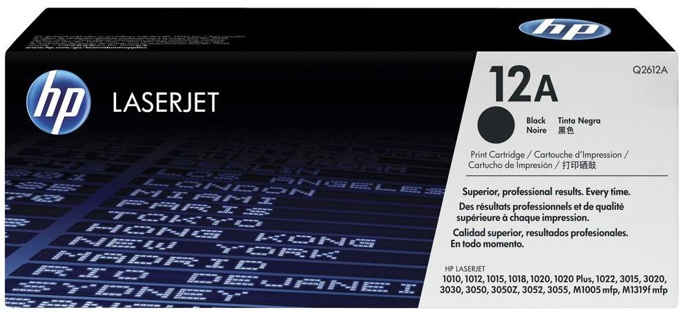 Тонер-картридж HP 12A LJ P1505/M1120/1522 Black 2000 страниц