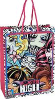Пакет бумажный подарочный, 18х24см Monster High