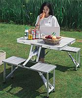 Набор мебели для пикника складной  стол+4 стула